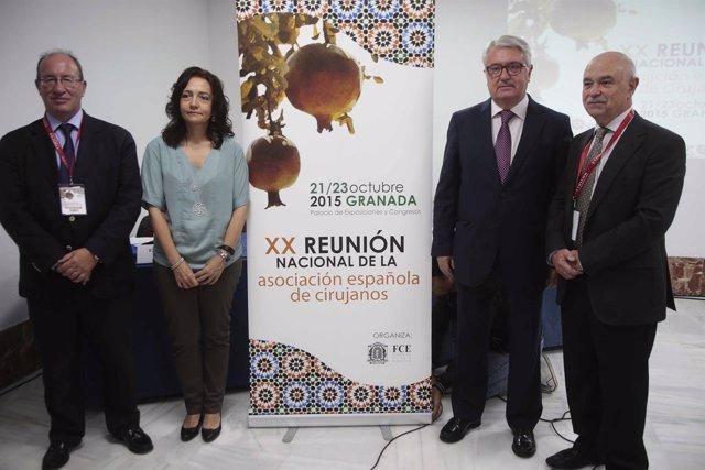 Presentación e inauguración del Congreso nacional de Cirugía.