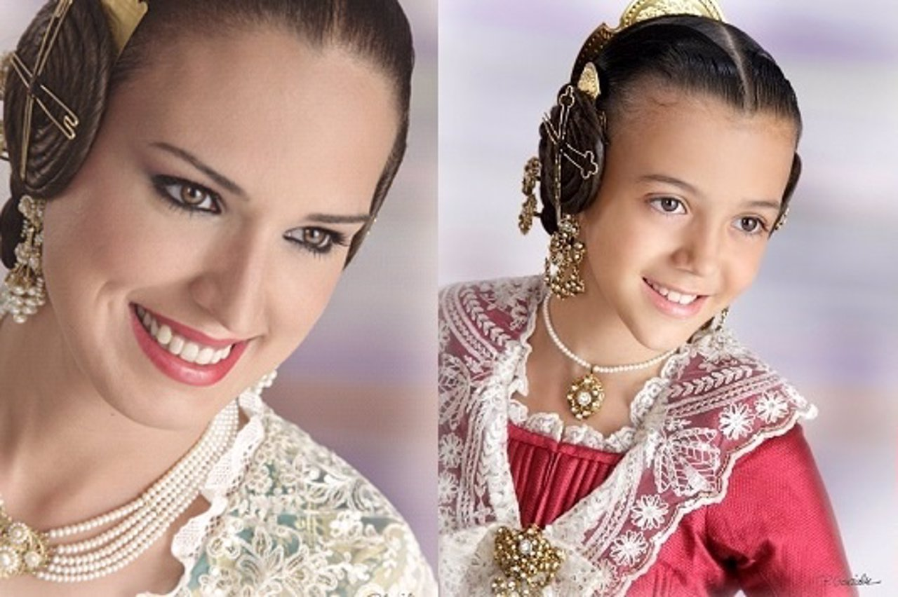 Alicia Moreno y Sofía Soler