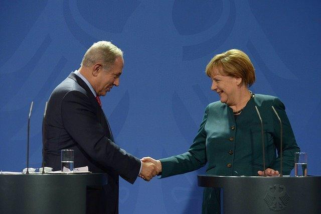 Netanyau y Merkel se reúnen en Berlín