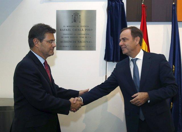 Rafael Catalá, Inaugura La Nueva Sede De La Audiencia Nacional