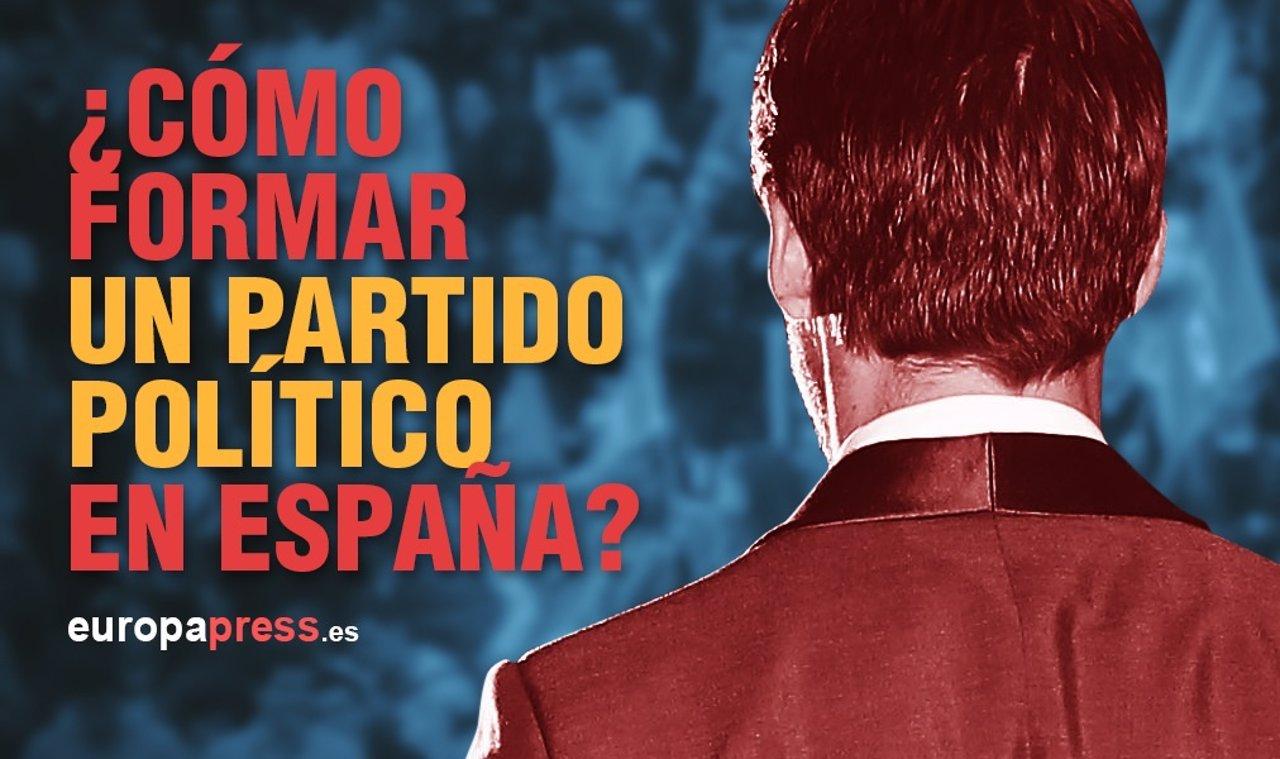 Portadilla: ¿Cómo formar un partido político en España?