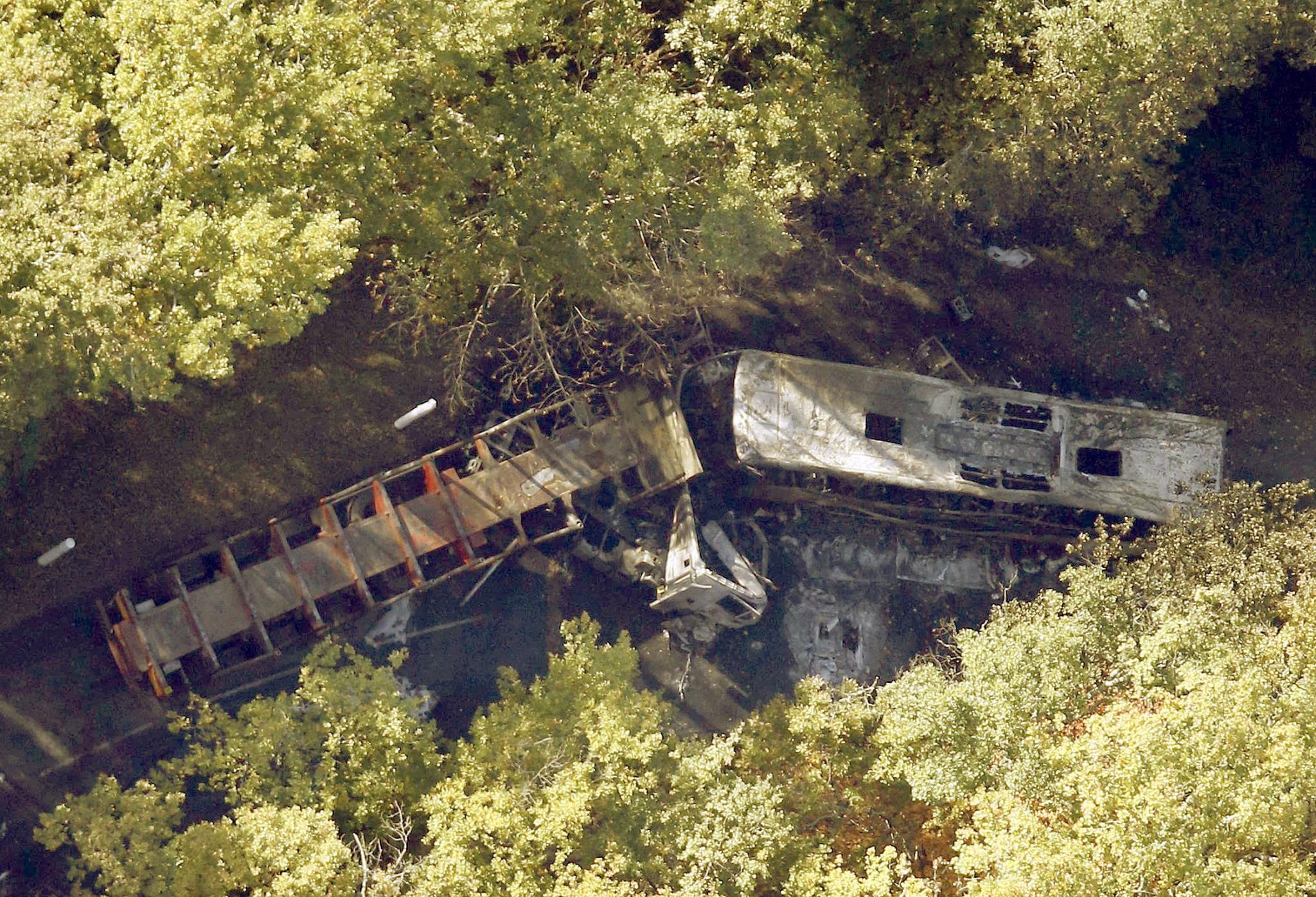 Accidente de autobús en Libourne, Francia