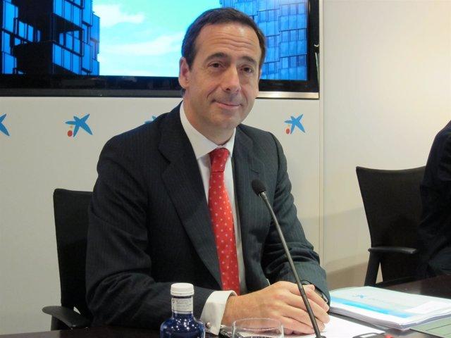 El consejero delegado de la entidad, Gonzalo Gortázar
