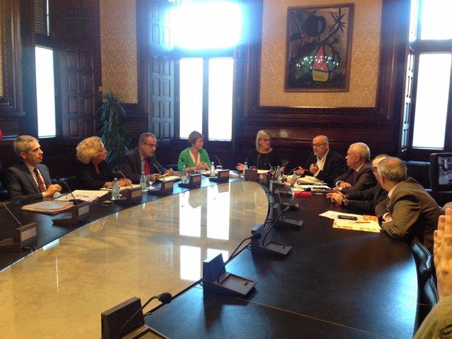 La Mesa de la Diputación permanente
