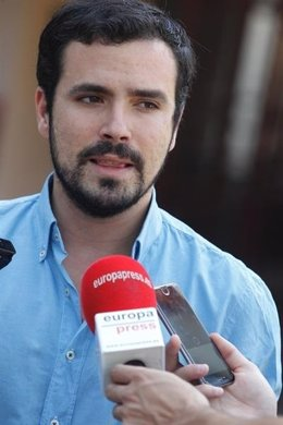 Alberto Garzón, candidato de IU a la Presidencia del Gobierno