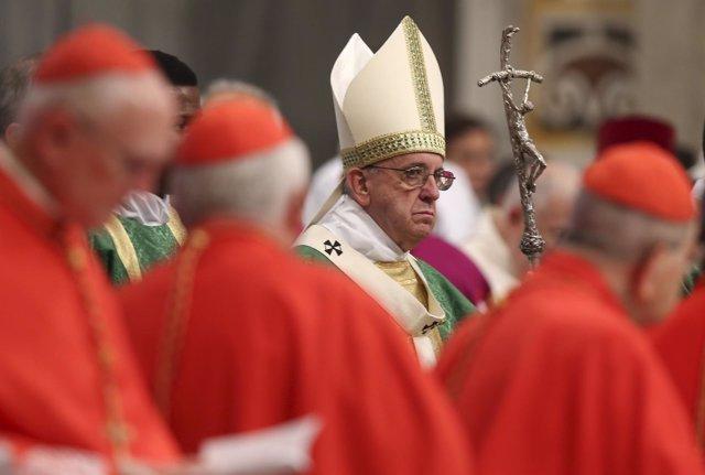 Papa Francisco en el Sínodo de la Familia