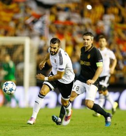 Valencia Cf vs AS Monaco, Negredo