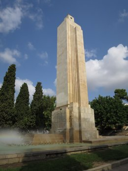 Monumento a las víctimas del 'Baleares'