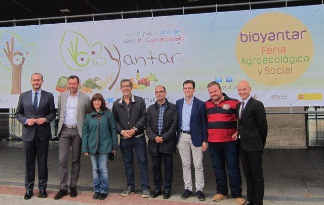 Alcalde, concejales y organizadores de Bioyantar presentan la feria