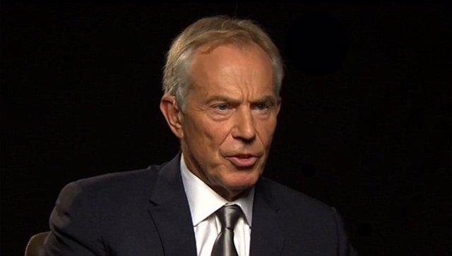 Tony Blair en entrevista a CNN