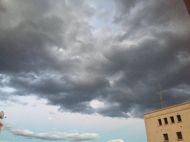 Nubes en Gran Canaria