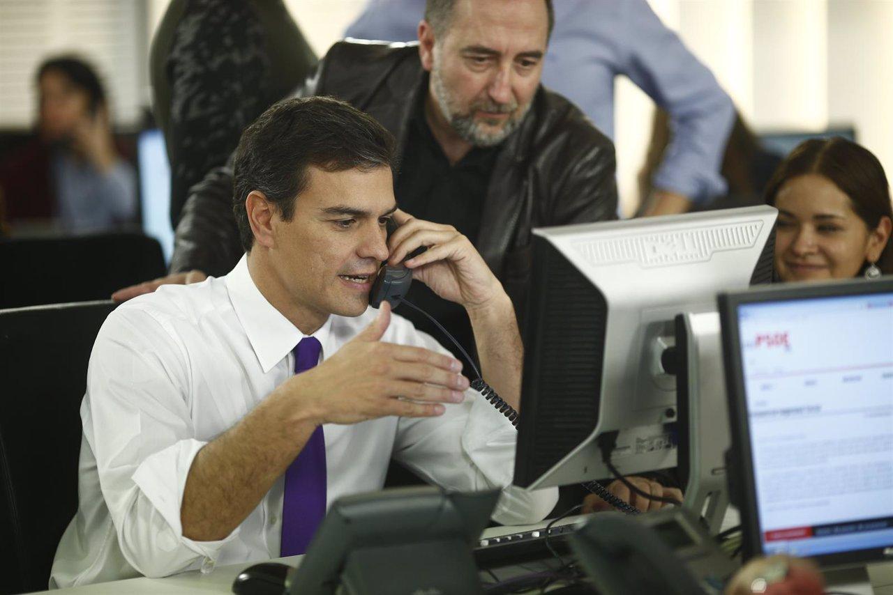 Pedro Sánchez estrena el Espacio de Activación del PSOE