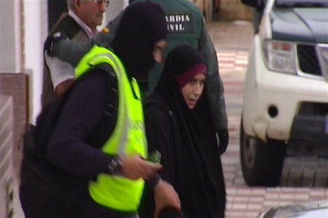 Maria Cala Marquez, yihadista detenida, huelva
