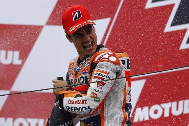 Dani Pedrosa,circuito de Motegi, MotoGP.