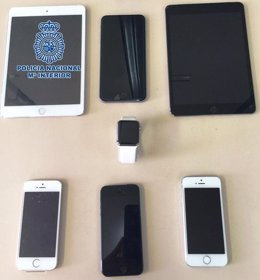 Artículos robados en Melilla
