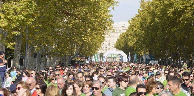 Casi 26.000 personas han acudido a la marcha