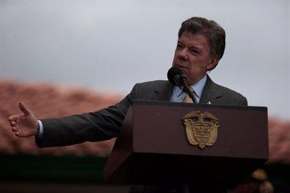 """Santos: """"Espero que sean las últimas elecciones bajo un conflicto armado"""""""