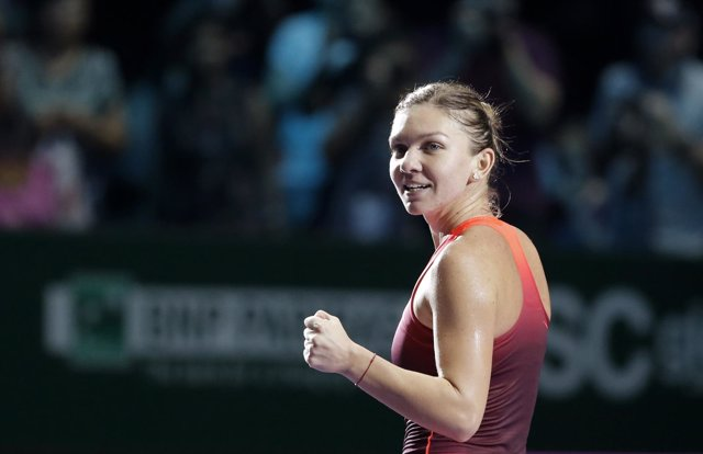Simona Halep Finales WTA Singapur