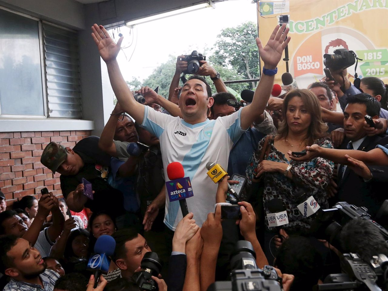 Jimmy Morales, elegido presidente de Guatemala