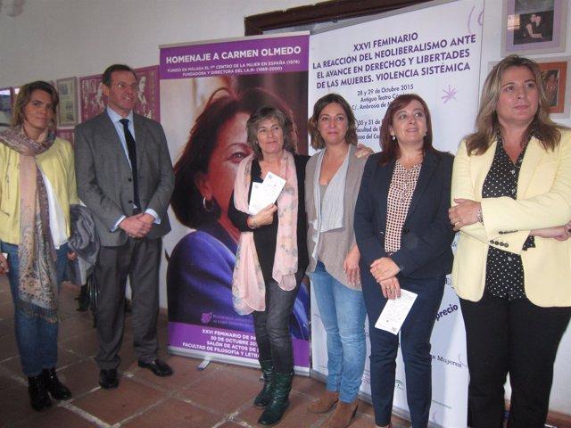 Presentación del XXVI Feminario y visita a la exposición