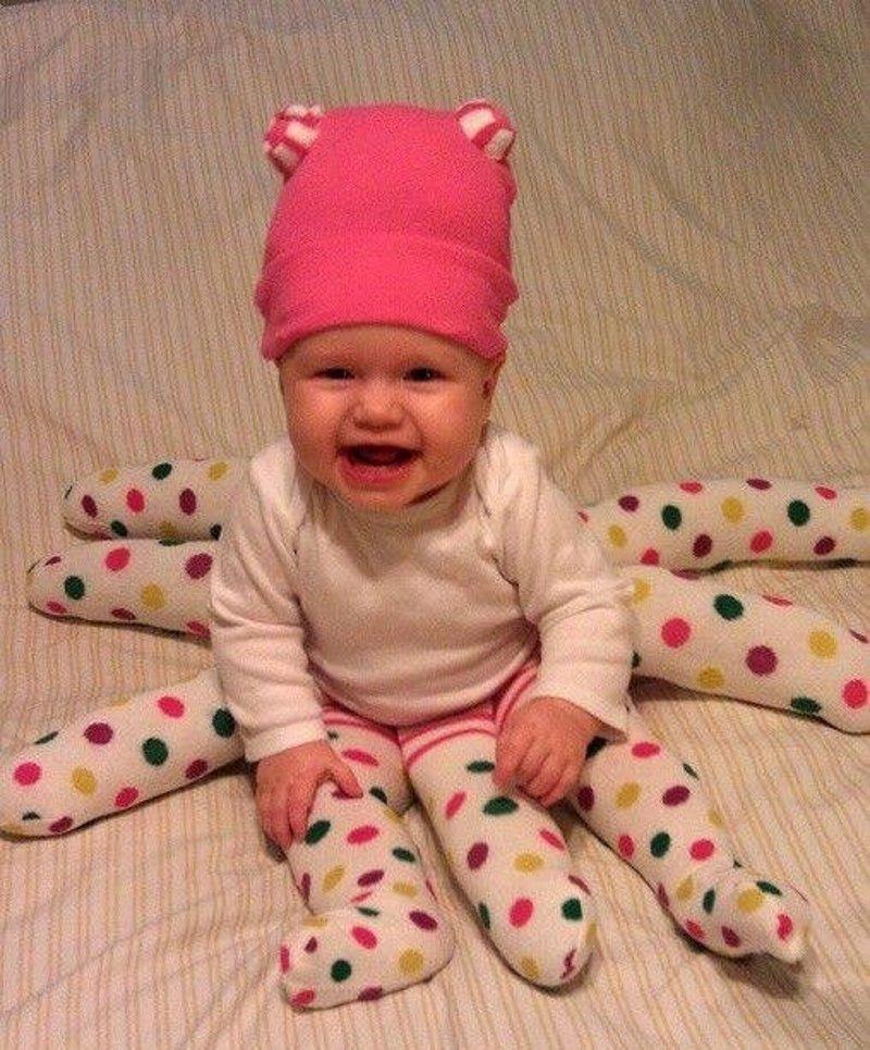 Cul es el disfraz de beb ms tierno para Halloween 2016