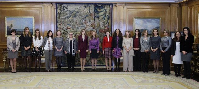 La Reina recibe a la Asociación de Ejecutivas y Consejeras