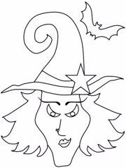 Los dibujos de Halloween para colorear ms terrorficos