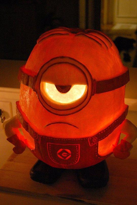 7 ideas para tallar y decorar las calabazas de Halloween paso a