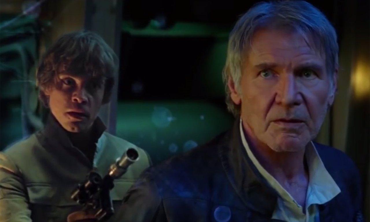 Luke SkyWalker en el falso tráiler de Star Wars 7