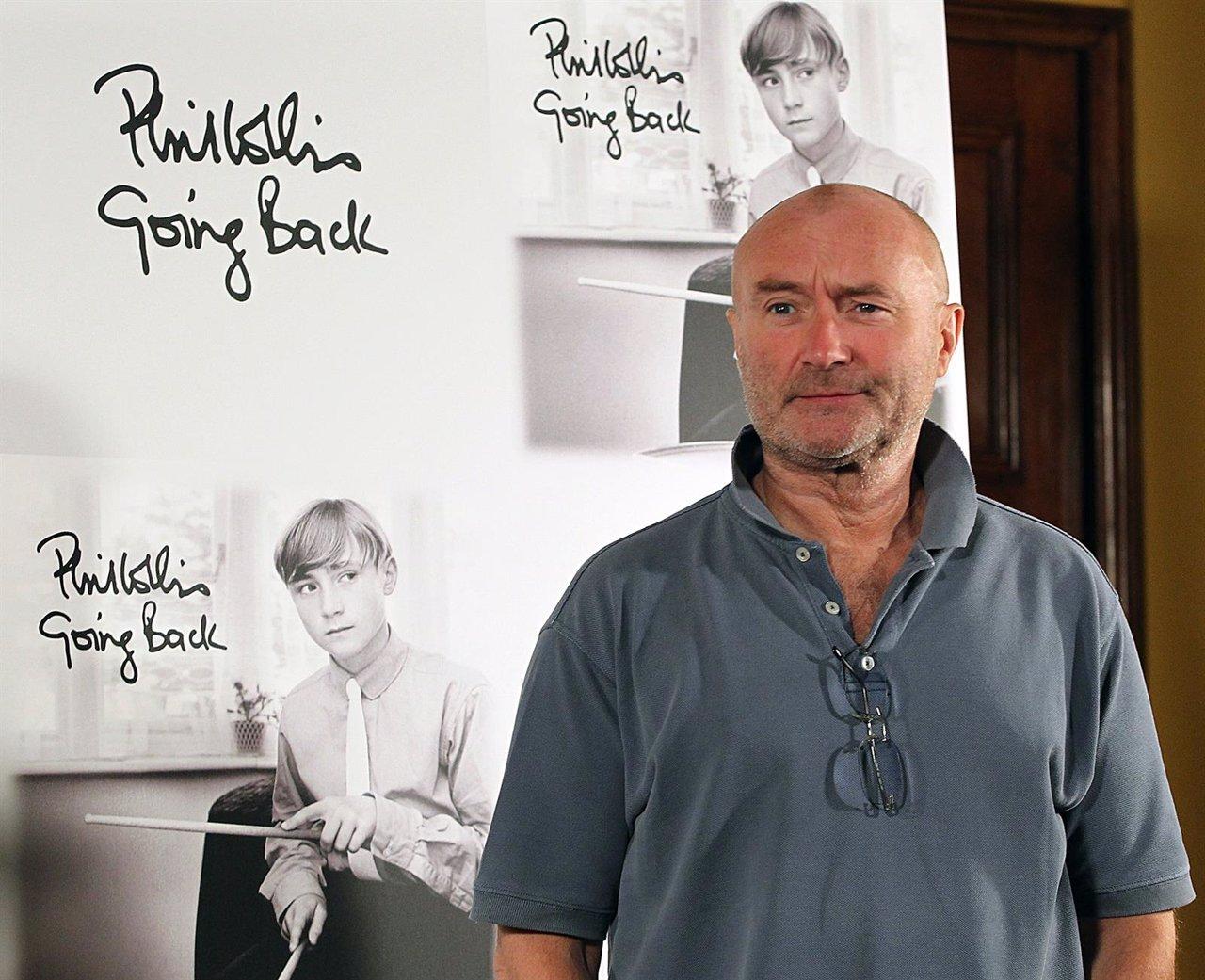 El músico Phil Collins