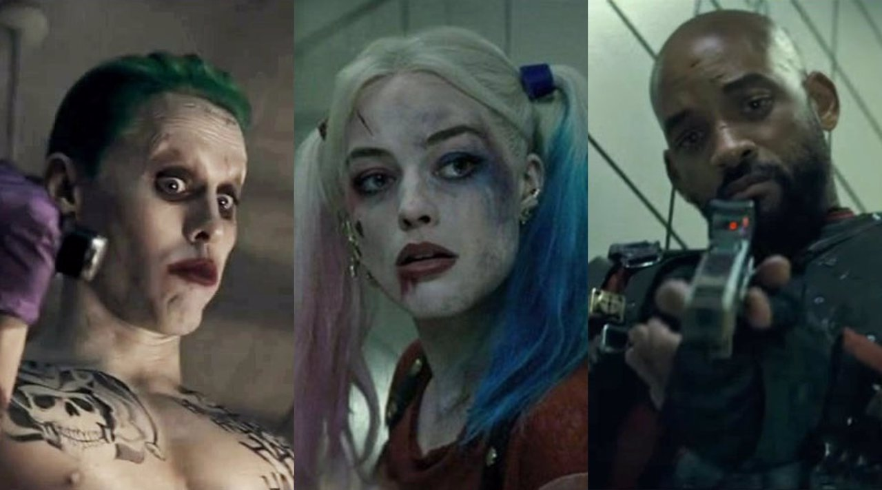 Joker, Harley Quinn, Deadshot en Suicide Squad
