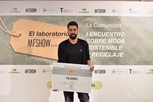 Moisés Nieto, ganador del concurso de Ecoembes