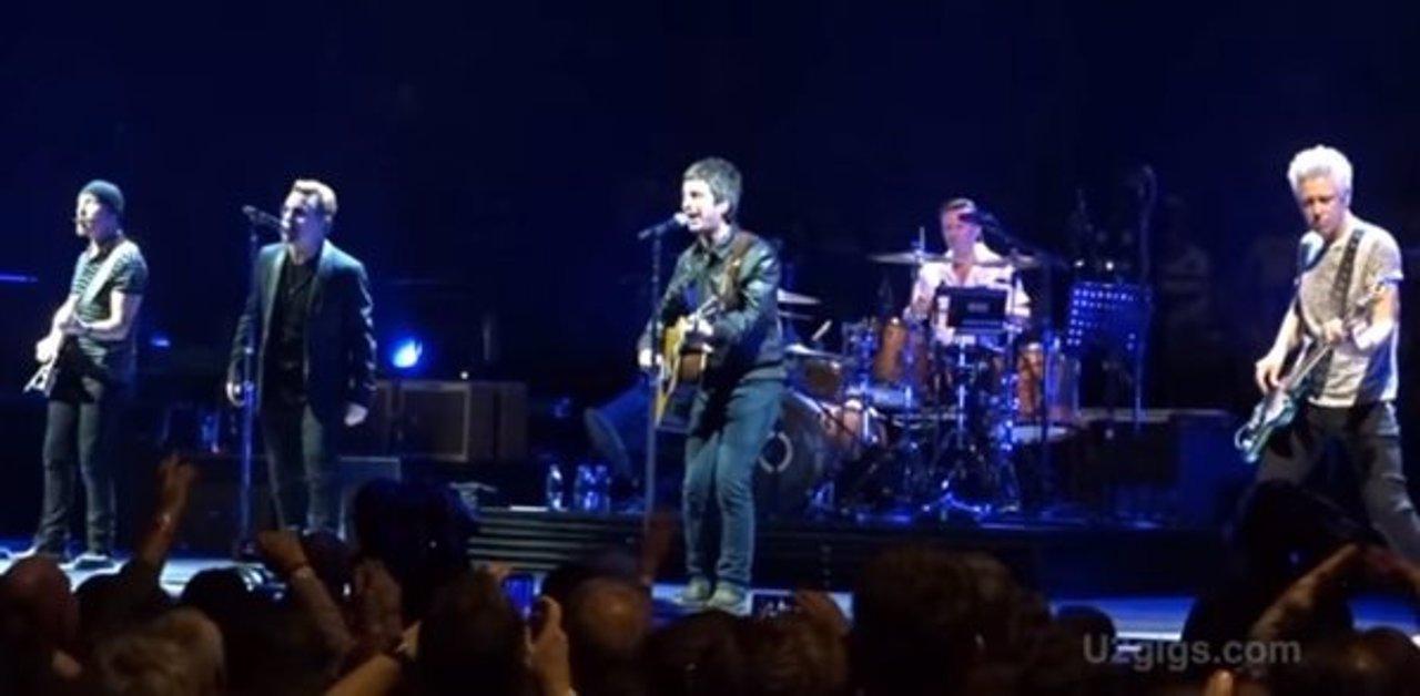 U2 con Noel Gallagher