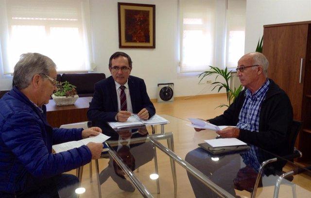 Reunión con la AAVV Barreda y Unión Vecinal