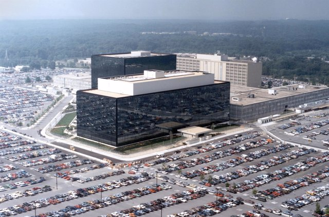 Edificio principal de la Agencia Nacional de Seguridad (NSA) de EEUU
