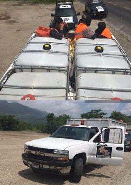 Rescatan a 129 migrantes en dos operaciones  en México