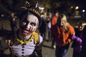 Halloween desfile de disfraces
