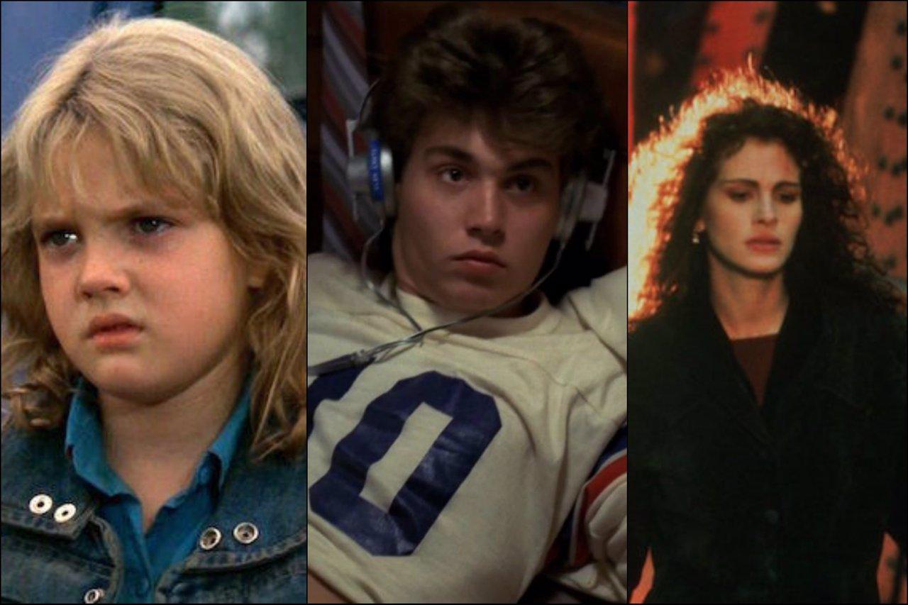 Drew Barrymore, Jonnhy Depp, Julia Roberts