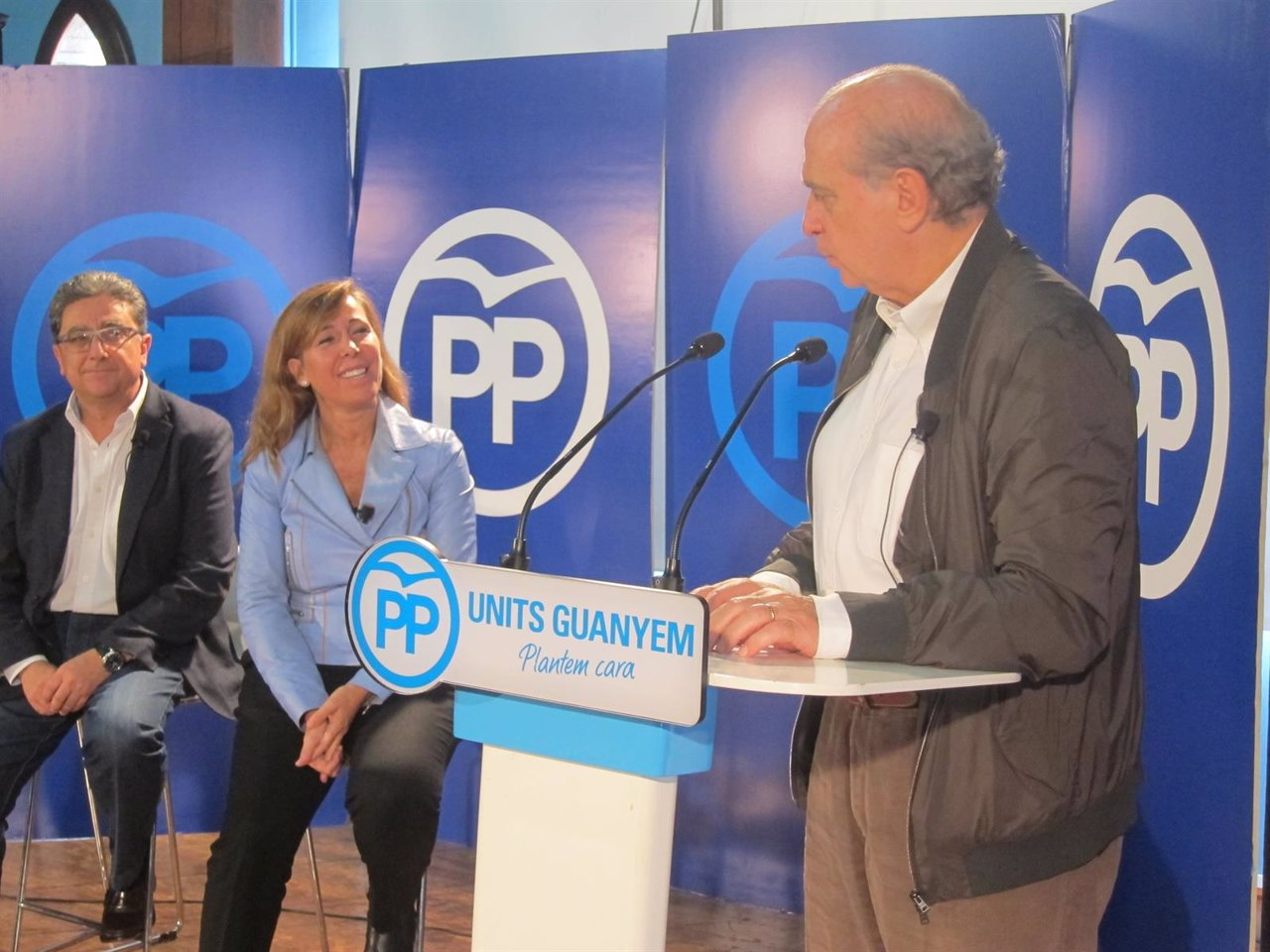E.Millo, A.S.Camacho y Jorge Fernández, PP