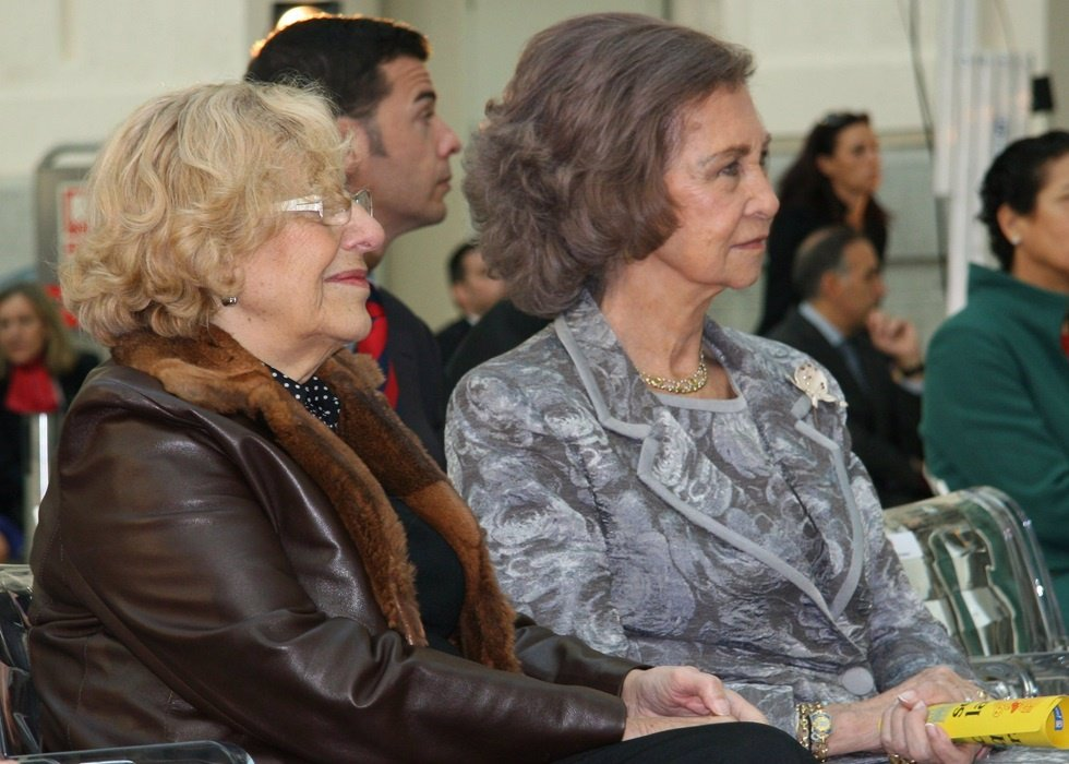 Manuela Caemena y doña Sofía