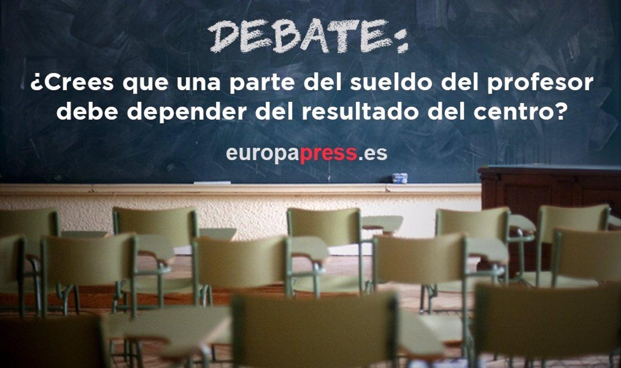 Debate sobre propuesta para ligar sueldo de profesores a nota de centros
