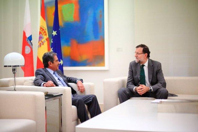 Rajoy y Revilla en la Moncloa