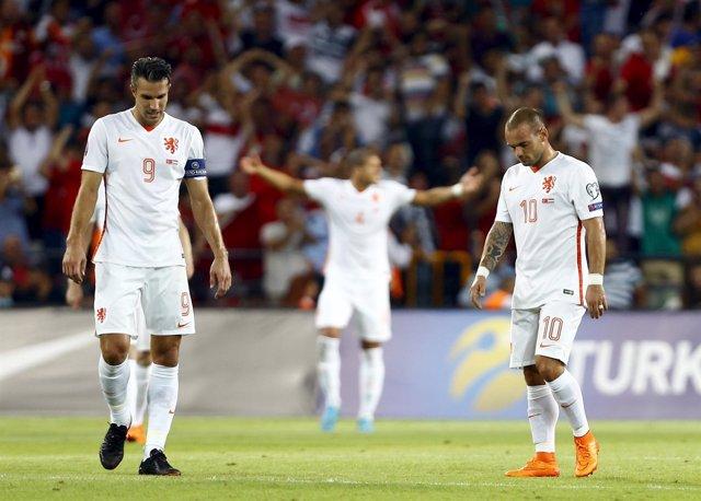 Van Persie y Sneijder