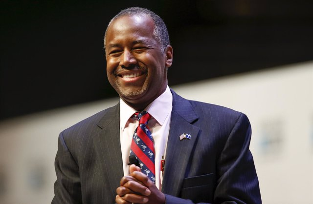 U.S. Republican candidate Dr. Ben Carson speaks during the Heritage Action for A