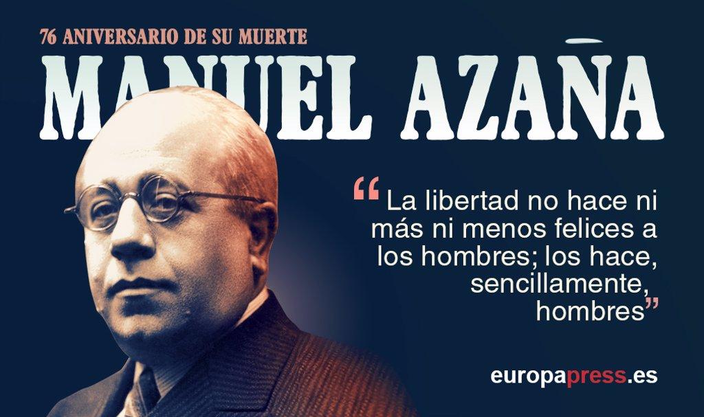 Manuel Azaña Un Presidente De Filias Y Fobias 10 Frases