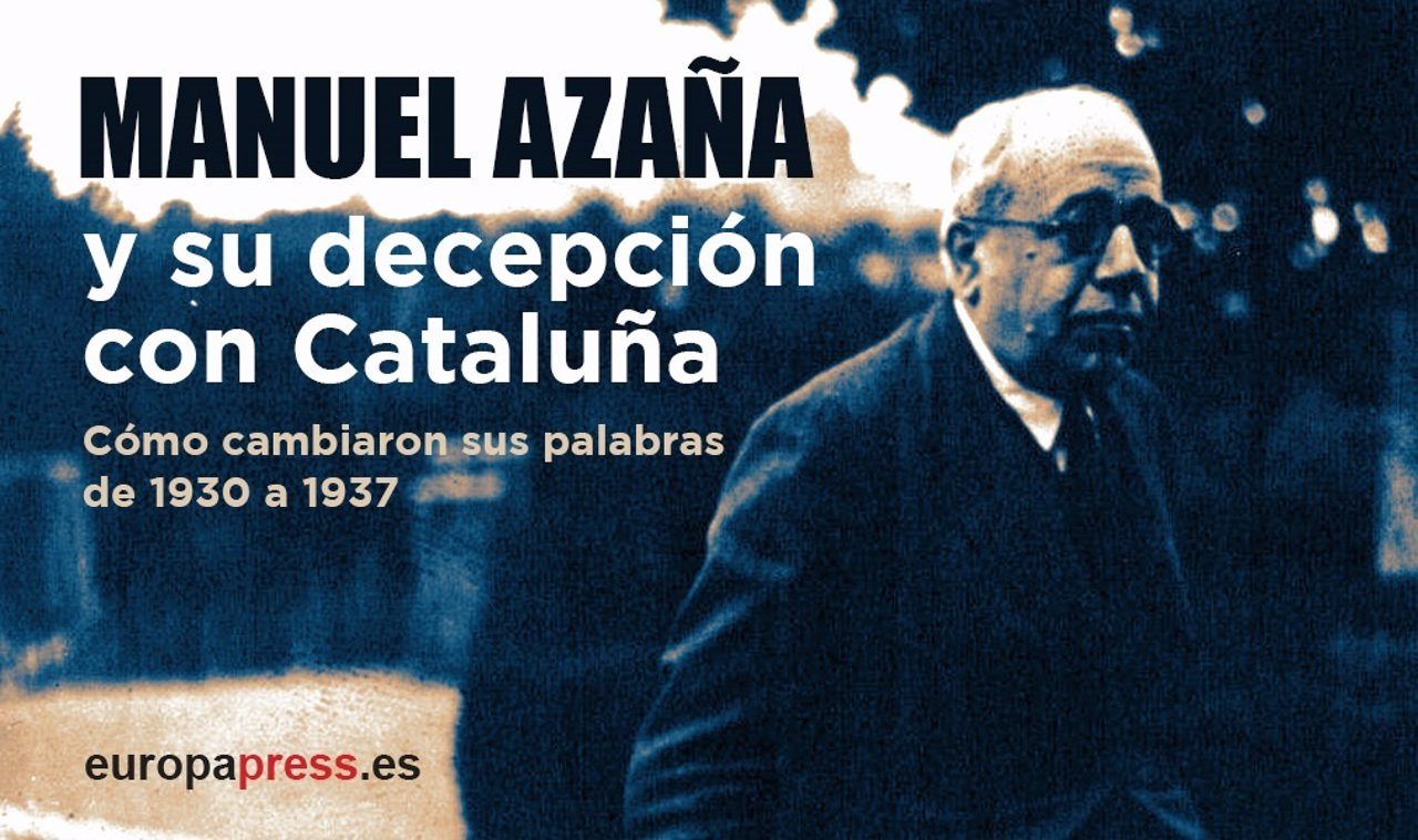 Azaña sobre Cataluña