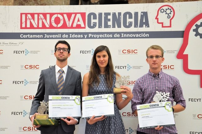 Premiados Innovaciencia 2015