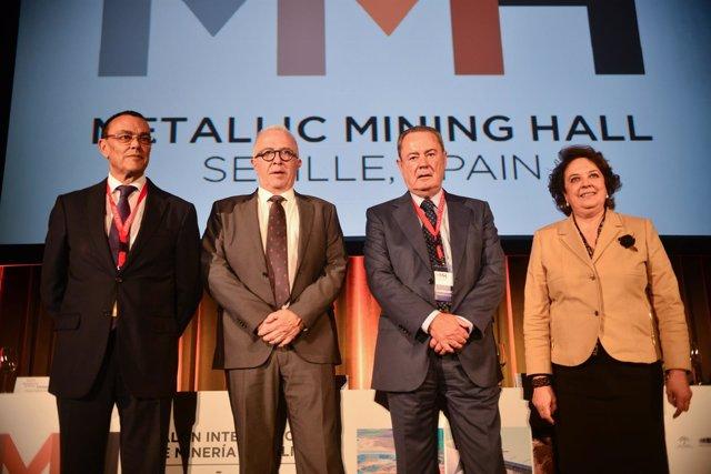Sánchez Maldonado, en la inauguración del Metallic Mining Hall