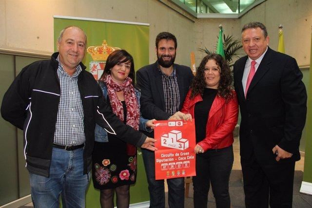 Presentación del Cross de Coca Cola en la Diputación de Granada.
