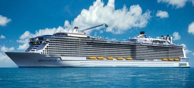 El crucero norteamericano Quantum of the seas